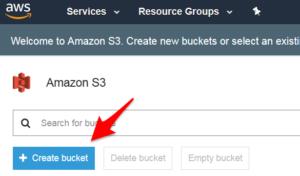 Create Bucket
